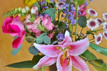 Flowers from wedding.
